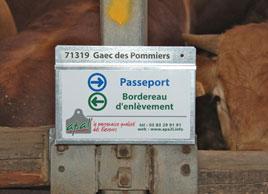 boitier commerce de bestiaux