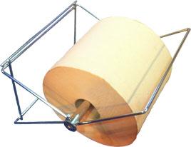 Dévidoir papier inox