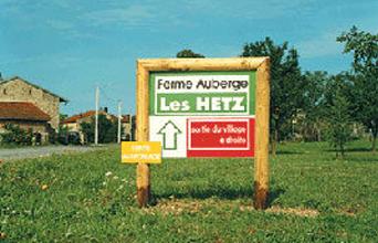 Panneau de ferme portique